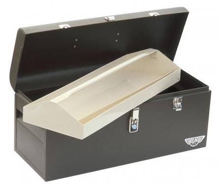 PORTABLE STANDARD TOOLBOX WITH REMOVABLE TRAY (22 x 8 1/2 x 9 3/4)
